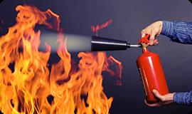 Как правильно себя вести при пожаре